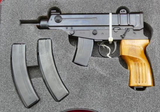 Czech SAVZ 61 Scorpion Pistol