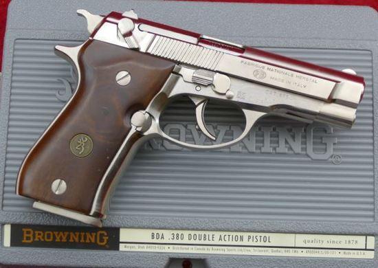 Browning BDA 380 cal Pistol
