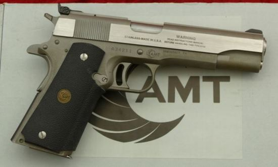 AMT 45 cal Hardballer Pistol
