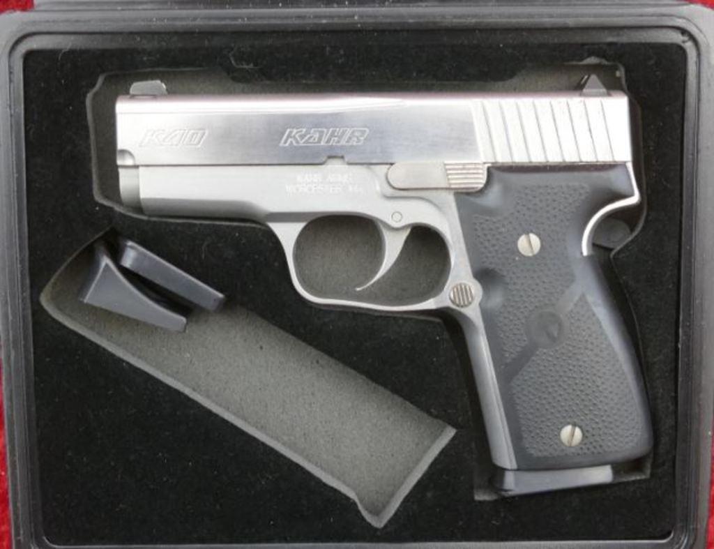 Lot: Kahr Arms K40 Elite 98 Pistol | Proxibid Auctions