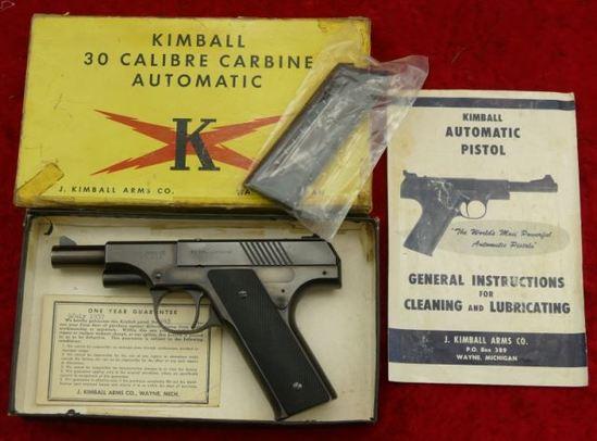 Rare NIB Kimball 30 cal Carbine Pistol