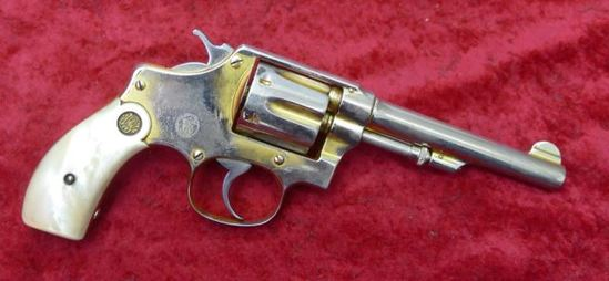Smith & Wesson Gold Washed 32 cal Hand Ejector
