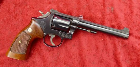 Smith & Wesson Model 14-3 38 cal Revolver