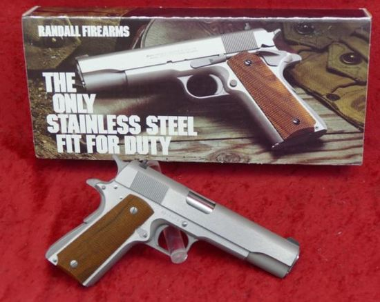 NIB Randall Service Model 45 Pistol