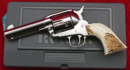 Ruger Vaquero 44 Mag w/Stag Grips