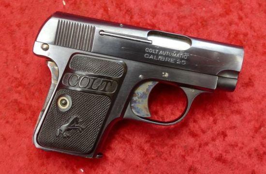 Fine Colt Model 1908 25 ACP Pocket Pistol