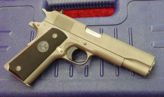 Colt 1991 A1 Series 80 Matte Stainless Pistol