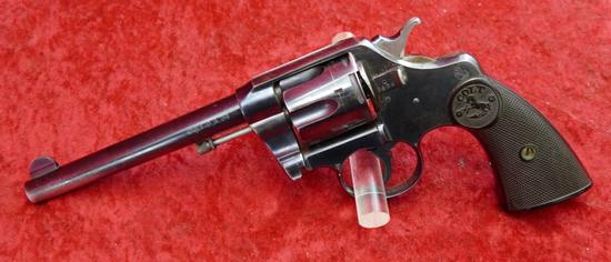 Colt Double Action 38 cal Revolver