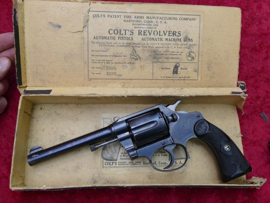 Colt Police Positive Special 32-20 cal Rev. w/box