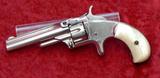 Nickel Plated S&W Model 1 Revolver