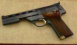NIB High Standard Victor 22 Target Pistol