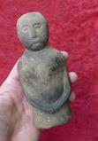 Human Effigy Pipe from Cahokia Area