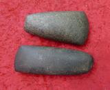 2 Polished Stone Celts