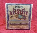 Box of Peters 20 ga Blue Wing Teal Shells