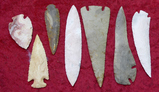 Lot 7 Large Contemporary Arrowheads