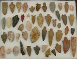 Lot 48 stone arrowheads