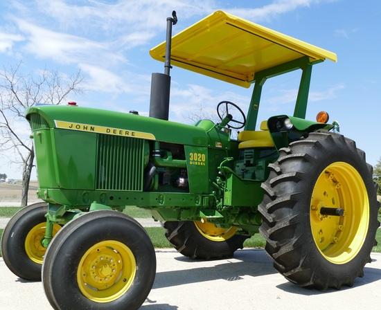 Ernie Goebel John Deere Tractor Auction