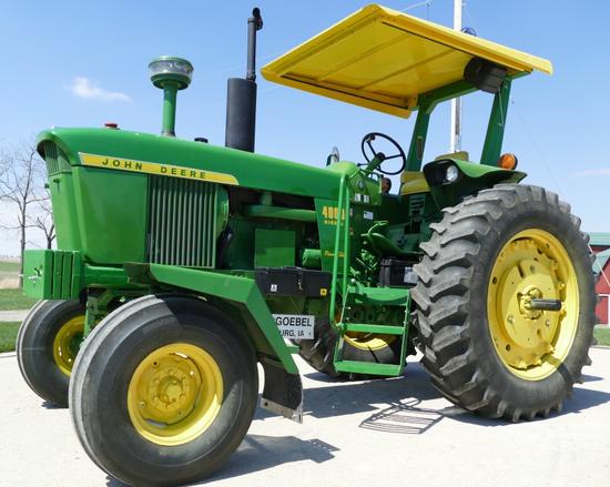 1971 John Deere 4000 Power Shift Diesel Tractor