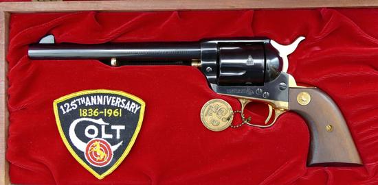 125th Anniversary Colt Single Action Revolver