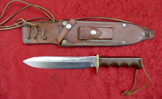 Custom Randall Knife & Sheath