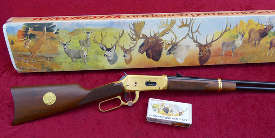 Winchester Antler Game Comm. Rifle