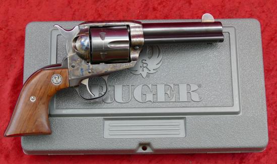 Ruger 44-40 Case Colored Vaquero
