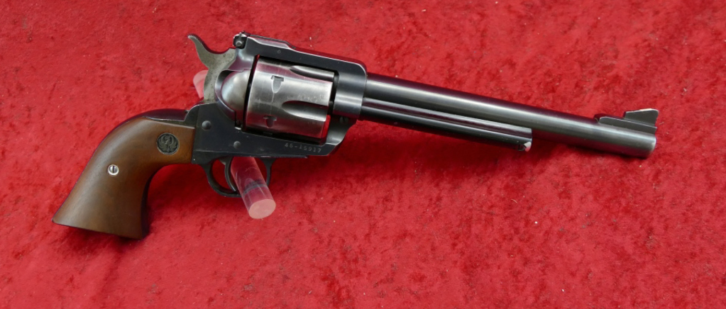 Early Production Ruger 45 cal Blackhawk Revolver