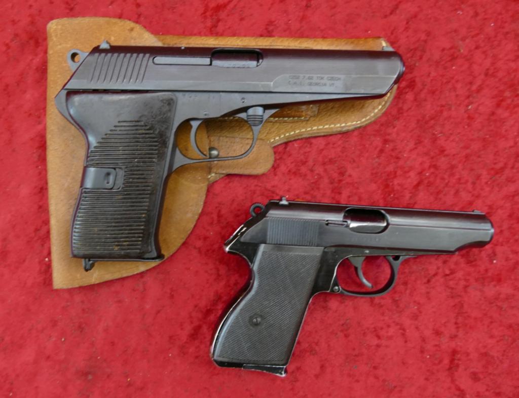 Pair of Surplus Military Automatic Pistols