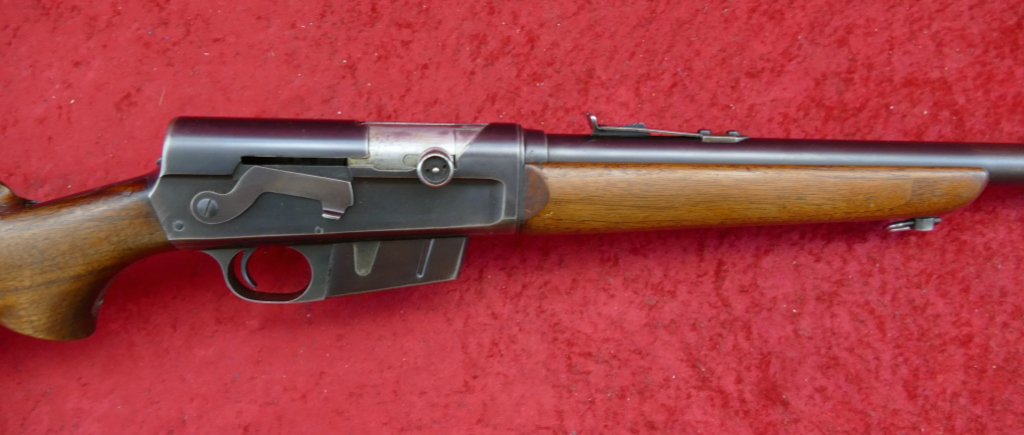Remington Model 81 35 cal. Rifle