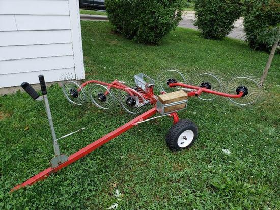 Estate Rake Wheeled Yard Rake