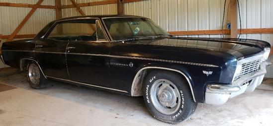 1966 Chevy 4 Door Impala