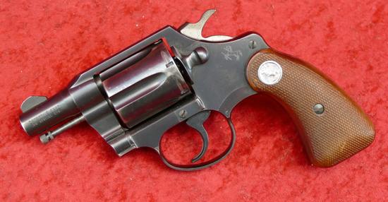 Colt Detective Special Snub Nose Revolver