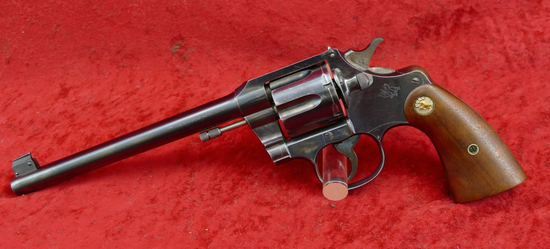 Colt Officers Model 38 Target Revolver