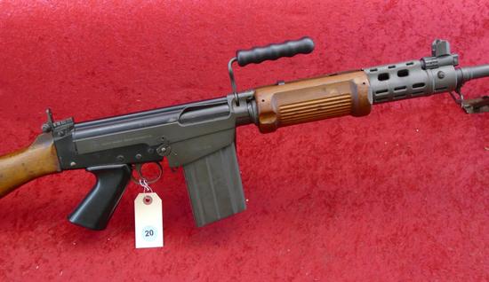 Israeli Heavy Bbl Squad Auto FAL Rifle