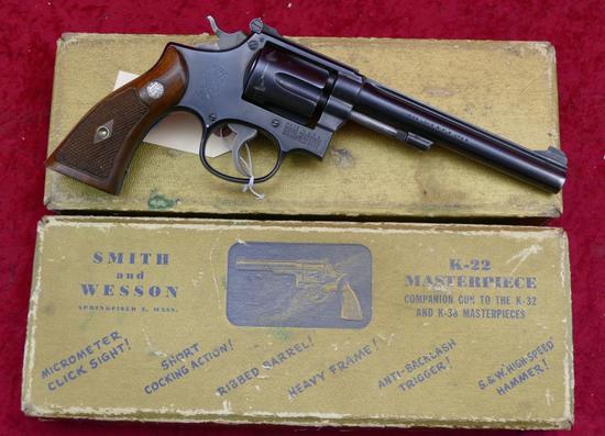 Smith & Wesson K22 Masterpiece Revolver