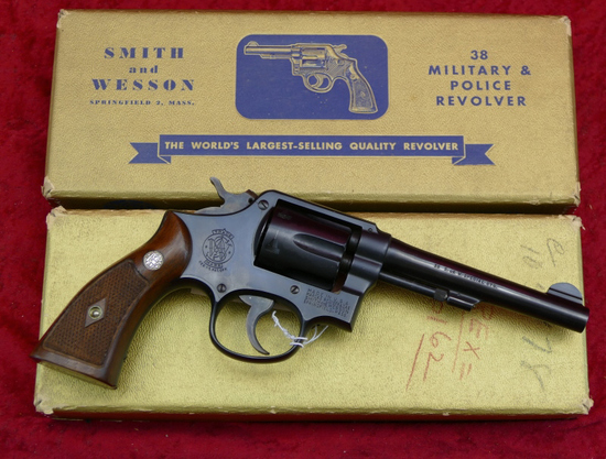 Early Smith & Wesson 38 Military & Police Revolver
