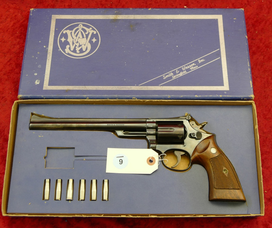 Smith & Wesson Model 53 22 Magnum Revolver