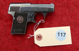 Engraved Walther Model 9 25 Auto Pocket Pistol