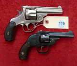 Pair of Top Break H&R Revolvers