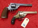 Pair of H&R Top Break Revolvers
