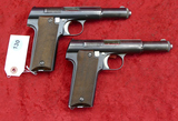 Pair Astra Model 600/43 9mm Luger Pistols