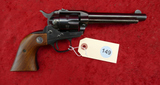 Early Ruger Single Six 22 cal Revolver