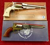 Pair of Engraved Black Powder Replica Arms