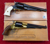 Pair 1858 Remington Style Black Powder Revolvers