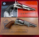 Pair Black Powder Police-Style Revolvers