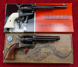 Pair of Single Action Percussion Revolvers