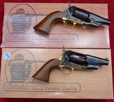 Pair of Sheriff Model Snub Nose Revolvers