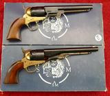 Pair of Armi Brass Frame Replica Revolvers