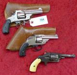 Lot of 3 Antique Revolvers