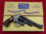 Fine Model 27 S&W 357 Mag w/Box